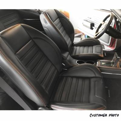 TMI Products - TMI Pro Series Sport R Low Back w/Headrests Bucket Seats for Mustang - Image 5