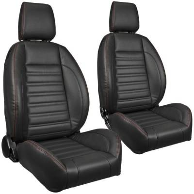 Universal - Pro-Series Low Profile Universal Bucket Seats - TMI Products - TMI Pro Series Sport Low Back w/Headrests Bucket Seats -Universal