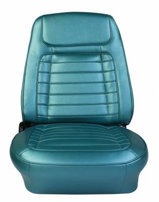 Distinctive Industries - 1968 Camaro Deluxe OE Reclining Front Bucket Seats w/Headrests -CUSTOM - Image 2