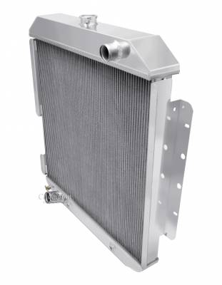 Champion Cooling Systems - Champion 3 Row Aluminum Radiator for 1977-1979 Ford F-Series Trucks