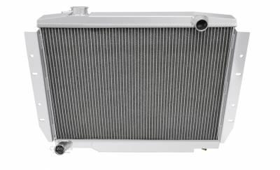 Champion Cooling Systems - Champion Cooling Three Row Aluminum Radiator 1981-1982 Jeep CJ5 CC58