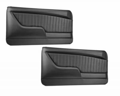 Camaro Upholstery - Door & Quarter Panels - TMI Products - 1968 Camaro Molded Sport II Door Panels
