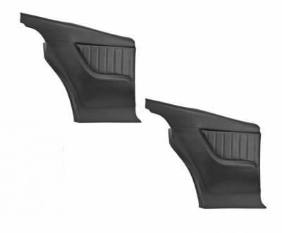 Camaro Upholstery - Door & Quarter Panels - TMI Products - 1968 Camaro Molded Sport II Rear Panels
