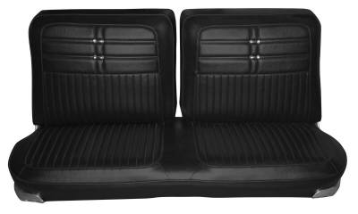 Distinctive Industries - 1963 Impala Coupe Standard Bench Seat Upholstery, Carpet & Panel Package 4 - Image 2