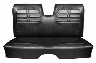 Distinctive Industries - 1963 Impala Coupe Standard Bench Seat Upholstery, Carpet & Panel Package 4 - Image 3