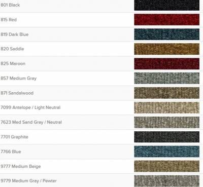 Auto Custom Carpets, Inc. - Molded Cut-Pile Carpet for 1996 - 1999 Suburban, Your Choice of Color - Image 2