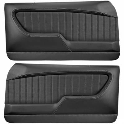 TMI Products - 1968 - 1972 Nova 2 door Coupe Molded Sport  Door & Rear Quarter Panel Set - Image 2