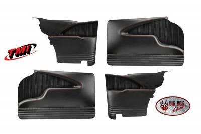 TMI Pro-Series Molded Door and Quarter Panel Set for 1955-57 Chevy Tri Five Two-Door Hardtop