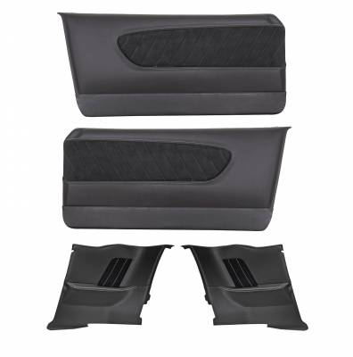 1964-1966 Mustang Coupe Sport R Door and Quarter Panel Set